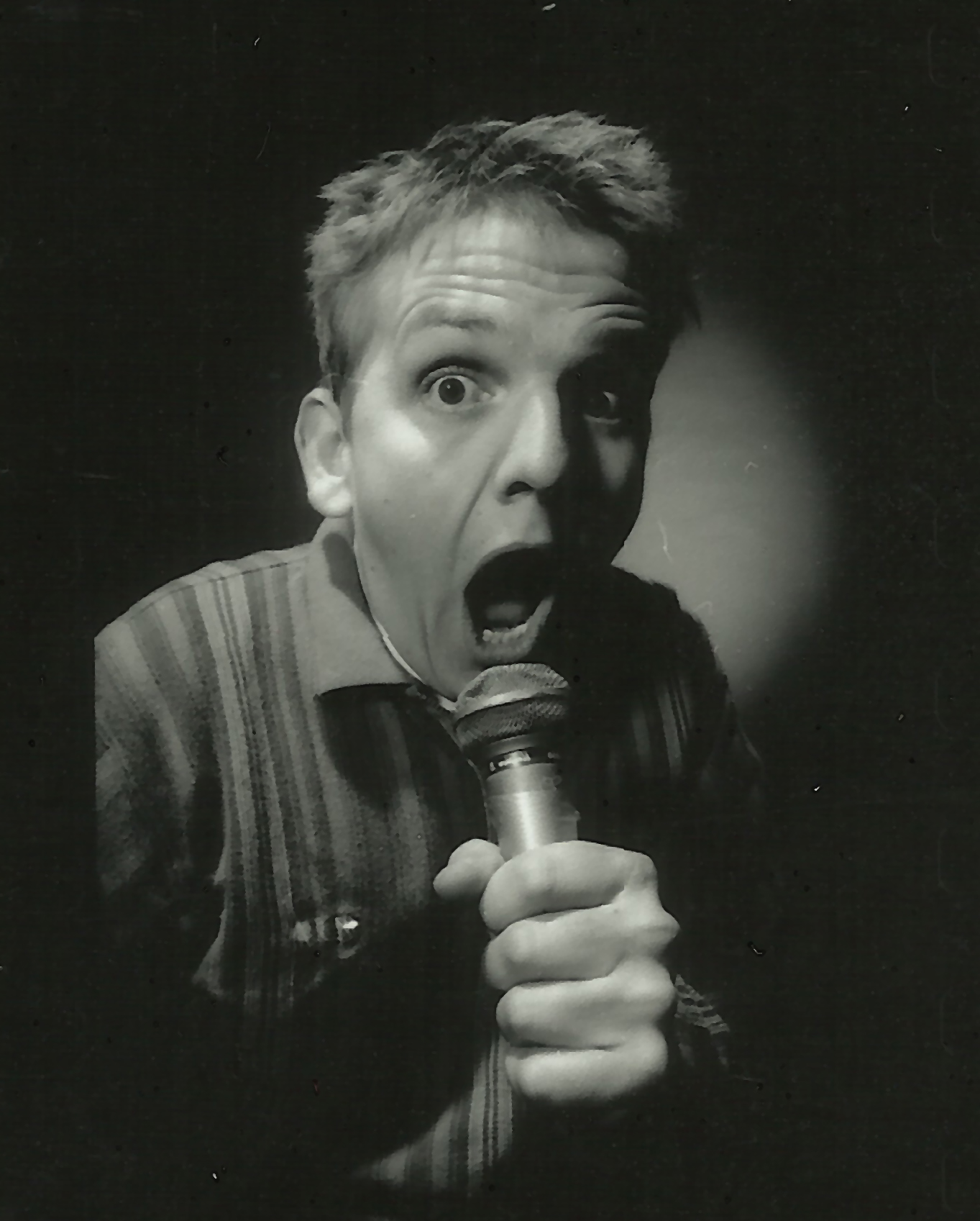 Ray stand up publicity shot 1998